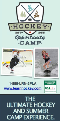 Summer, hockey, residential camp, water ski, co-ed, camp